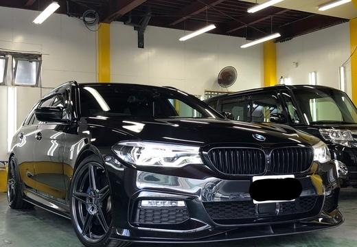 BMW 540i エシュロン ナノフィル